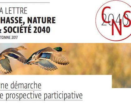 LA LETTRE CHASSE, NATURE & SOCIÉTÉ 2040
