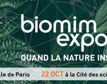 La Fondation François Sommer partenaire de Biomim'expo 2019
