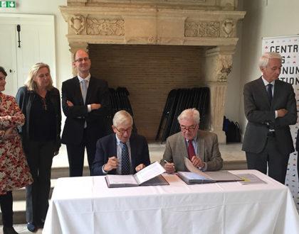 Signature d'une convention avec le Centre des monuments nationaux