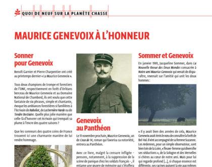 Maurice Genevoix : l'hommage de Jacqueline Sommer