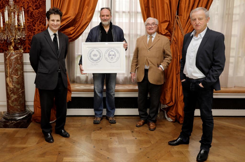 Serge Joncour, lauréat du Prix du livre François Sommer 2021
